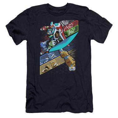 Image for Voltron: Legendary Defender Premium Canvas Premium Shirt - Crisscross