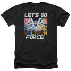 Image for Voltron: Legendary Defender Heather T-Shirt - Let's Go