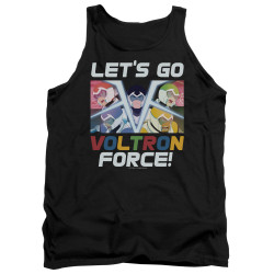 Image for Voltron: Legendary Defender Tank Top - Let's Go