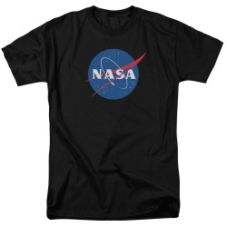 Image for NASA T-Shirt - Meatball Logo