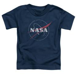 Image for NASA Toddler T-Shirt - Distressed Logo
