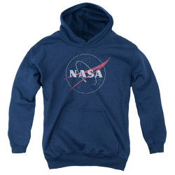 Image for NASA Youth Hoodie - Distressed Logo