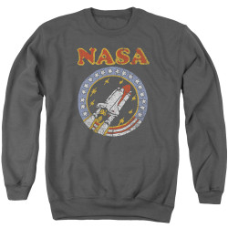 Image for NASA Crewneck - Retro Shuttle