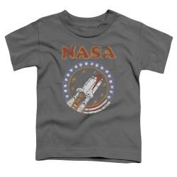 Image for NASA Toddler T-Shirt - Retro Shuttle