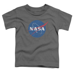 Image for NASA Toddler T-Shirt - Meatball Logo Distressed