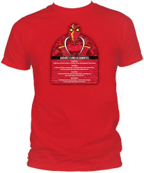Asimov's Laws of Robotics T-Shirt Image 2