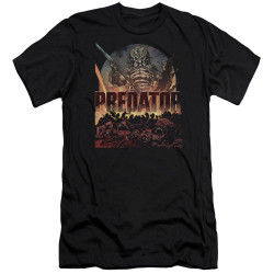 Image for Predator Premium Canvas Premium Shirt - Battle