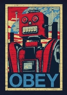 Image for Obey Robot T-Shirt