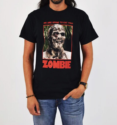 Image for Zombie T-Shirt - We are going to eat you!