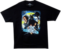Image for Young Frankenstein Poster T-Shirt