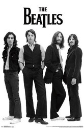 Image for The Beatles Poster - White
