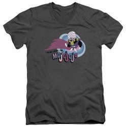 Image for The Powerpuff Girls V Neck T-Shirt - I Am Bad I Am Evil