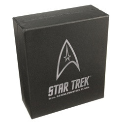 Image Closeup for Star Trek Hip Flask