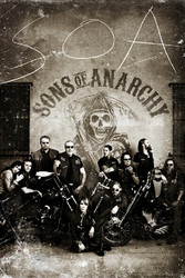 Image for Sons of Anarchy Poster - Vintage