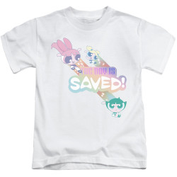 Image for The Powerpuff Girls Kids T-Shirt - The Day is Saved Again