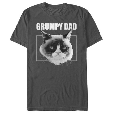Grumpy Cat Premium T-Shirt - Grumpy Dad
