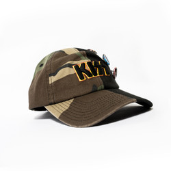 Image for Kiss Half Camo Hat