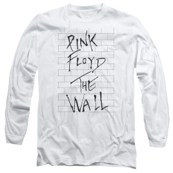 Image for Roger Waters Long Sleeve Shirt - the Wall on White