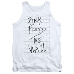 Image for Roger Waters Tank Top - the Wall on White