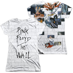 Image for Roger Waters Girls Sublimated T-Shirt - the Wall