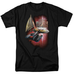 Image for Star Trek the Next Generation Mirror Universe T-Shirt - Mirror Enterprise