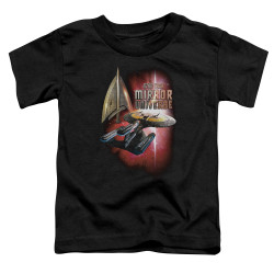 Image for Star Trek the Next Generation Mirror Universe Toddler T-Shirt - Mirror Enterprise