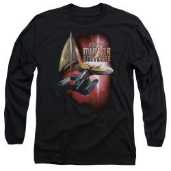 Image for Star Trek the Next Generation Mirror Universe Long Sleeve Shirt - Mirror Enterprise