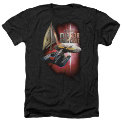 Image for Star Trek the Next Generation Mirror Universe Heather T-Shirt - Mirror Enterprise