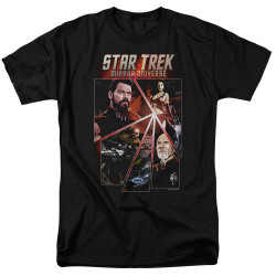Image for Star Trek the Next Generation Mirror Universe T-Shirt - Panels