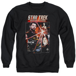 Image for Star Trek the Next Generation Mirror Universe Crewneck - Panels