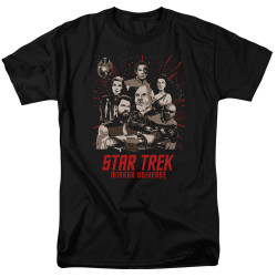 Image for Star Trek the Next Generation Mirror Universe T-Shirt - Poster