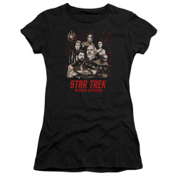 Image for Star Trek the Next Generation Mirror Universe Juniors T-Shirt - Poster