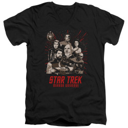 Image for Star Trek the Next Generation Mirror Universe V Neck T-Shirt - Poster