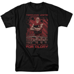 Image for Star Trek the Next Generation Mirror Universe T-Shirt - Terrans Unite
