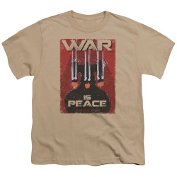 Image for Star Trek the Next Generation Mirror Universe Youth T-Shirt - War is Peace