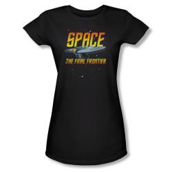 Image for Star Trek Girls T-Shirt - Girls Space the Final Frontier