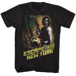 Image for Escape from New York T-Shirt - Statue of Liberty Pose