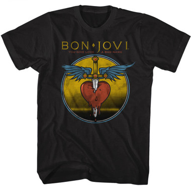 Image for Bon Jovi T-Shirt - You Give Love a Bad Name