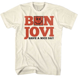 Image for Bon Jovi T-Shirt - Have a Nice Day