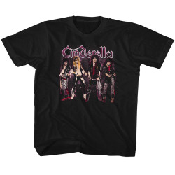 Image for Cinderella Band Stands Youth T-Shirt