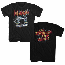 Image for Def Leppard T-Shirt - Through the Night 2 Side