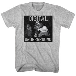 Image for Digital Underground T-Shirt - Mic on Stage