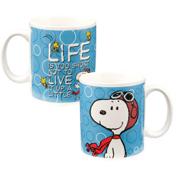 Image for Snoopy Life is Too Short Mug