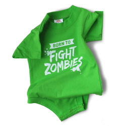 Image for Born to Fight Zombies Baby Creeper