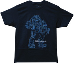 Image for Titanfall T-Shirt - Atlas Outline