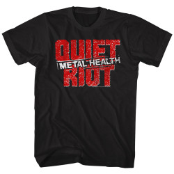 Image for Quiet Riot T-Shirt - Metal Health Logo