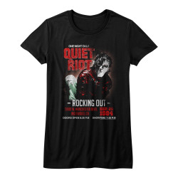 Image for Quiet Riot Girls T-Shirt - Rocking Out