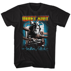 Image for Quiet Riot T-Shirt - Quiet Riot Condition Critical