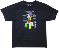 Minecraft Youth T-Shirt - Creeper Anatomy