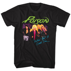 Image for Poison T-Shirt - Nothin' But a Good Time